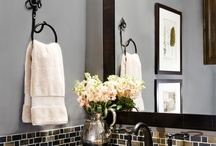 Interior design- Bathroom  / by AromaMeadow /graphic design/art teacher