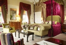 Bedrooms / We have 22 fabulous bedrooms, split into four different room types. Following a full refurbishment in 2008, each room is individually designed incorporating luxurious texiles and antiques to compliment the history of the house.