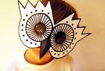 Manualidades màscares infantil