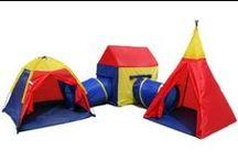 Children's Play Tent / Cubby House Sets / Indoor / Outdoor Play tents, teepees, wig wams, play house, cubby house, tunnels....hours of fun!