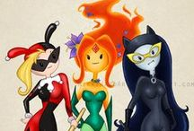 GOTHAM CITY SIRENS / Featuring all those other people HA HA HA! <3