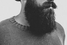 Vintage style Boys / We also love the beard and mustache