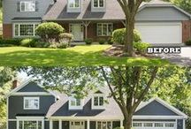 Before and After's Erdmann Exterior Designs / Before and After House redesigns
