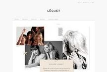 Inspiration | Explore / Visual blogs with additional features such as look book, catwalk shows, street style, celebrities, campaigns, timeline, heritage, video, guidebooks, press links etc positioned in easy to view blocks.