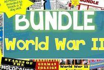TpT 7 World War II (World History) / Teaching strategies and lesson plans for secondary World History classroom https://www.teacherspayteachers.com/Store/Chalk-Dust-Diva