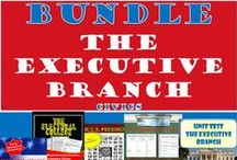 TpT 4 The Executive Branch (CIVICS) / Teaching strategies and lesson plans for The Executive Branch for secondary CIVICS/ American Government https://www.teacherspayteachers.com/Store/Chalk-Dust-Diva