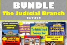 TpT 5 The Judicial Branch(Civics) / Find creative and engaging teaching strategies for the Judicial Branch for secondary CIVICS http://historychalktalk.blogspot.com/2016/07/google-my-maps-in-classroom.html