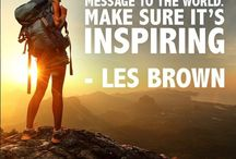 Quotes To Live By / Having a positive outlook on life is important for finding inspiration. Here you will find the ultimate Pinterest collection of life quotes to help you see the amazing potential life brings