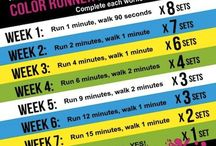 5k Training / Ready to become a runner? Well, right here is the ultimate board that provides 5k training for beginners. Whether you need a 5k training plan to get started or want to run a faster 5k, you will have everything you need to know down to your running shoes. You can do it! Don't give up.