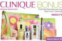 Clinique Bonus Time / It is a promotional period from Clinique when you can get free cosmetics products with a purchase of their product. I am bringing you the latest offers of Clinique bonus time 2017, so you don't need to search endlessly for stores offering a free gift anymore.