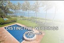 "DISTINCTIVE WEDDINGS / Your special day - we have the perfect location. We've served ""A"" list celebrities, fortune 500 executives, and Heads of State from around the world. Distinctive Weddings Hawaii boasts some of the most fabulous ocean front luxury rental estates on Oahu for intimate wedding, events, wedding showers and bridal parties. To book your wedding in paradise, visit Distinctive Weddings Hawaii at www.loveinhawaii.com"