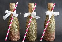 Bottle Art Inspiration / Transform your chef-inspired bottle of onli into a creative piece of art!