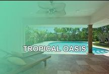 TROPICAL OASIS / Redesigned to reflect a casual, yet elegant atmosphere this stunning 4 bedroom, 4.5 bath luxury home is the perfect place to relax and indulge in the Island life. Lounge poolside and gaze past the palm trees up at the starry skies as cool tropical breezes blow by. You'll find the outdoor patio area perfect for BBQ's and for entertaining guests. It's your own private paradise! Contact Ohana Beach Rentals Hawaii for more information. www.OBRHI.com