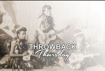 THROWBACK THURSDAY / Here's some Throwback Thursday's from our Facebook site.
