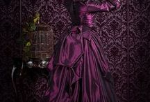 Victorian, Geishas, Corsets, Shoes and Steampunk / Lace, gown, design, gei. Dependence. Oh, that's!