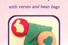 Movement Games & Circle Time / Ideas for Bean Bags, Verses, and Games - all great activities to incorporate into your Waldorf homeschooling and Circle Time. Bring more hands-on learning into your homeschool lessons with more movement and play.
