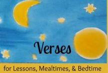 """Verses for Homeschooling / Verses and poems to recite with our children. """"Poetry is conceived only through a solitary soul, but it is comprehended through human community,"""" said Rudolf Steiner. So share those verses and poems aloud with each other in your daily life and in your Waldorf homeschooling."""
