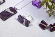 My work Handmade ceramic jewellery. Katyoneil.com