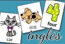 Aprender inglés / Ejercicios para niños para aprender inglés. Preescolar.
