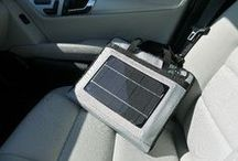 Solar / Portable solar systems to charge batteries, smart phones or tablet pcs.