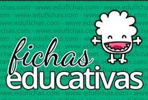 Fichas educativas / Fichas educativas con actividades para niños.