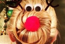 Holiday Hair / Get that perfect holiday hair. Let us make it easy for you.