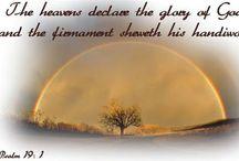Céu Nuvens Sol Lua Estrelas / Os céus proclamam a glória de Deus, e o firmamento anuncia as obras das suas mãos.... de Salmo 19.1.   The heavens proclaim the glory of God, and the firmament proclaims the works of their hands, of Psalm 19.1.