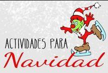 Fichas de Navidad / Fichas infantiles de Navidad. Descarga e imprime fichas educativas con dibujos de Navidad y diferentes actividades