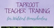 Taproot Teacher Training / The 12th annual Taproot Teacher Training for Waldorf Homeschoolers takes place August 2-5, 2018 at the Shaw Retreat Center at Camp Asbury in Hiram, Ohio. Barbara Dewey and Jean Miller, along with other guest presenters, host homeschooling parents from all over the country for a beautiful weekend immersed in main lessons, stories, the arts, games, nature study and more.
