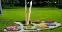 Novel Garden Ideas / Add fun, spunk, art and interest to your garden, just to make you smile