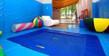Indoor Trampolines / From the simple and ordinary to the downright fun and extraordinary.