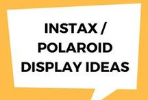 Instax / Polaroid Display Ideas / Creative ways of displaying your Instax and Polaroid images.