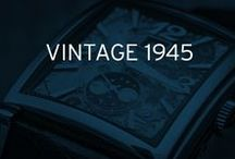 Vintage 1945 / 1945 : in the midst of a renaissance in the art of watchmaking, Girard-Perregaux created an Art Deco style model with a harmoniously curved rectangular case.