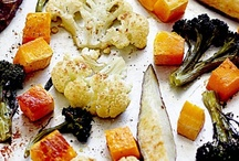Roasted or Grilled Vegetables / an inspiration on plating, styling, technique and vision