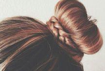 when girls do hair / by Alexis Bento