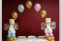 Angel Balloons / Communion baptisms  / by Rosielloons