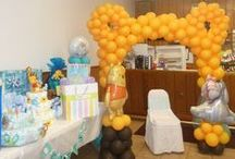 baby shower chair decor inspiration