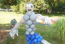 holloween balloons decor  / by Rosielloons