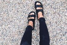 when i wear shoes..