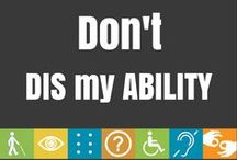 Inspiring Quotes / Inspiration for those with any type of disability.