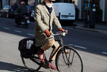Miejski rower / Miasto, rower, moda, styl, na miejscu, ekologia