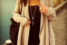 Cardigans and sweaters / by Jenny Kiesewetter