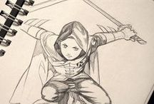 Concept art/sketches