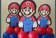 Mario's brother balloons / by Rosielloons