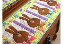 Húsvét, easter patchwork / Húsvéti ötletek