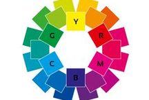 Farben / Alles rund um das Thema Farbenlehre und Gestaltung.