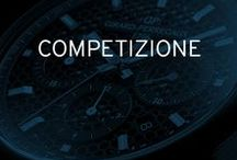 Competizione / The chronograph has made a major contribution to forging Girard-Perregaux's reputation in the field of precision watchmaking. The Competizione Collection comprises two interpretations featuring designs evoking the automotive world.