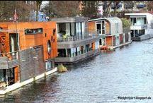 Hausboote / Leben auf einem Boot