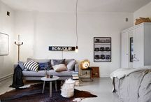 SPACES+PLACES / Interiors and exteriors