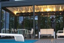 Outdoor Furniture / enjoy open space! garden structures to create new outdoor areas . Pergolas, garden structures, wind closings